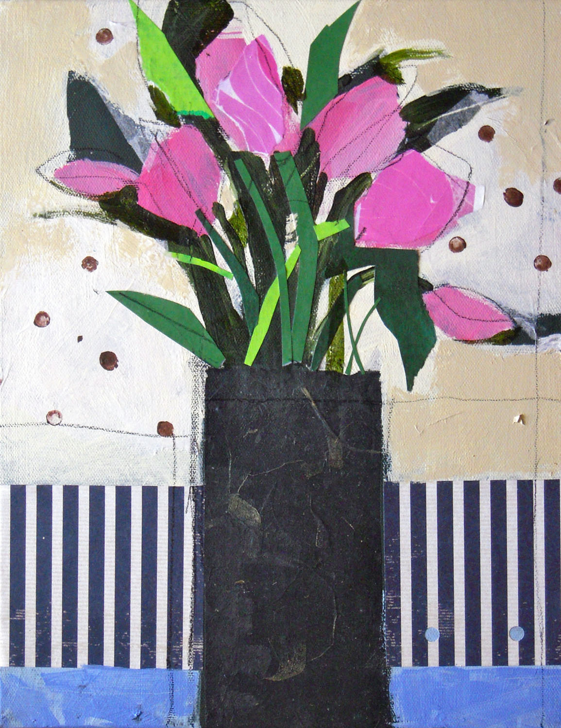 Pink Tulips - Nancy Barch