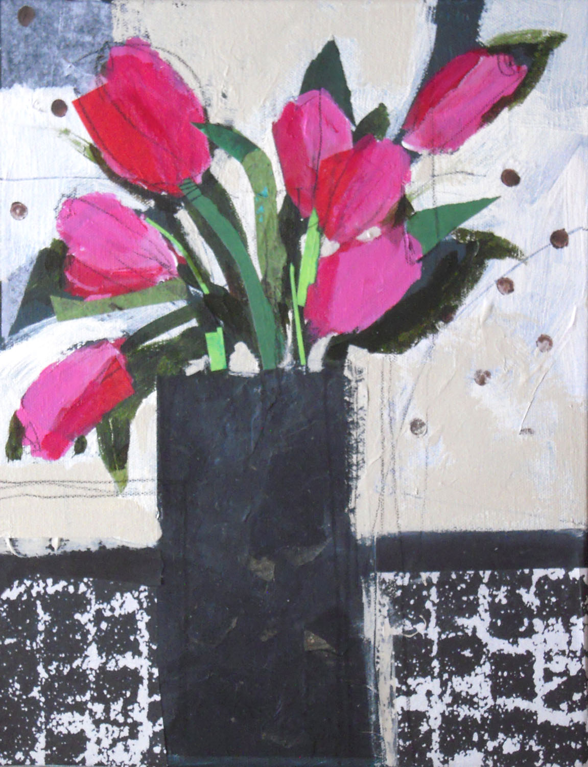 Red Tulips - Nancy Barch