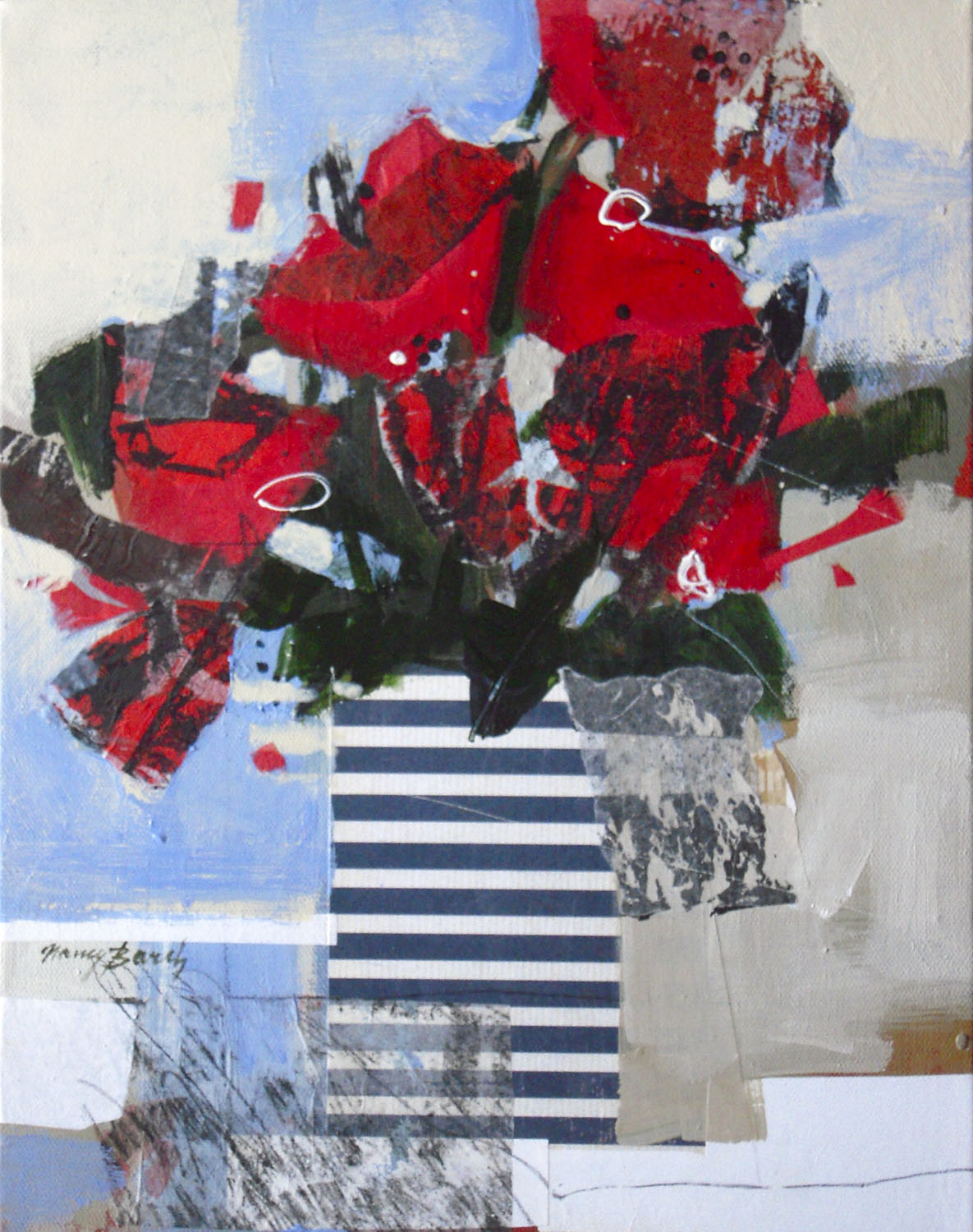 Red White & Blue - Nancy Barch