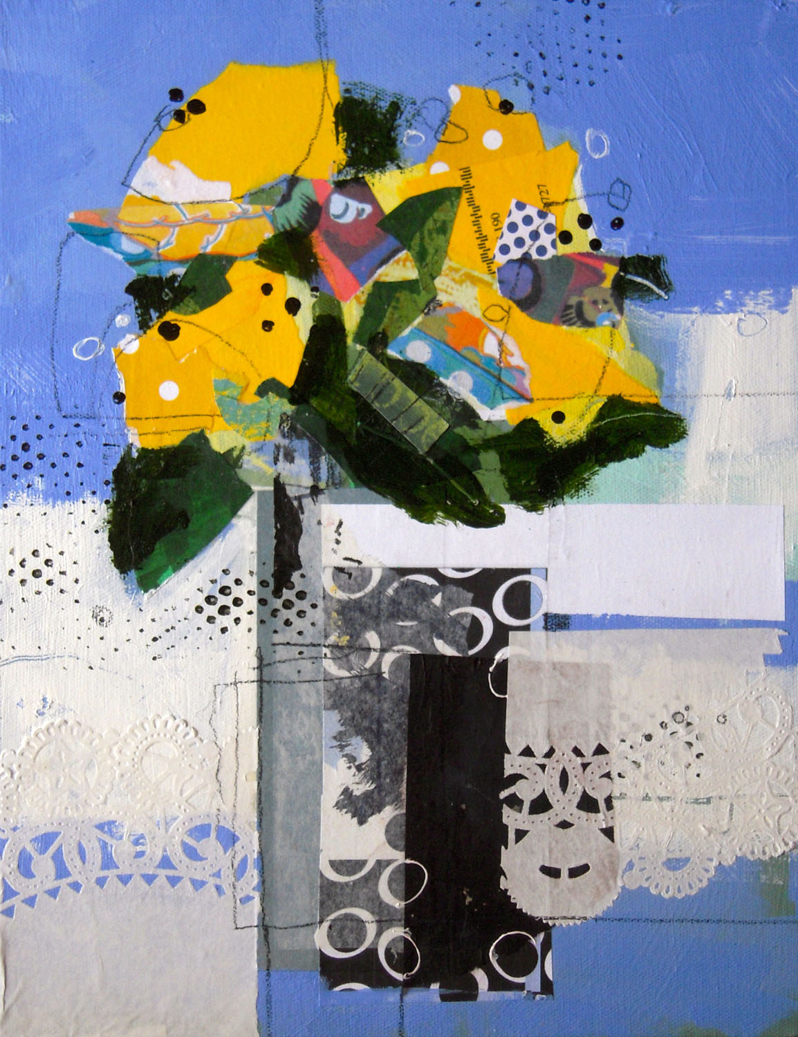 Sunshine In A Vase - Nancy Barch