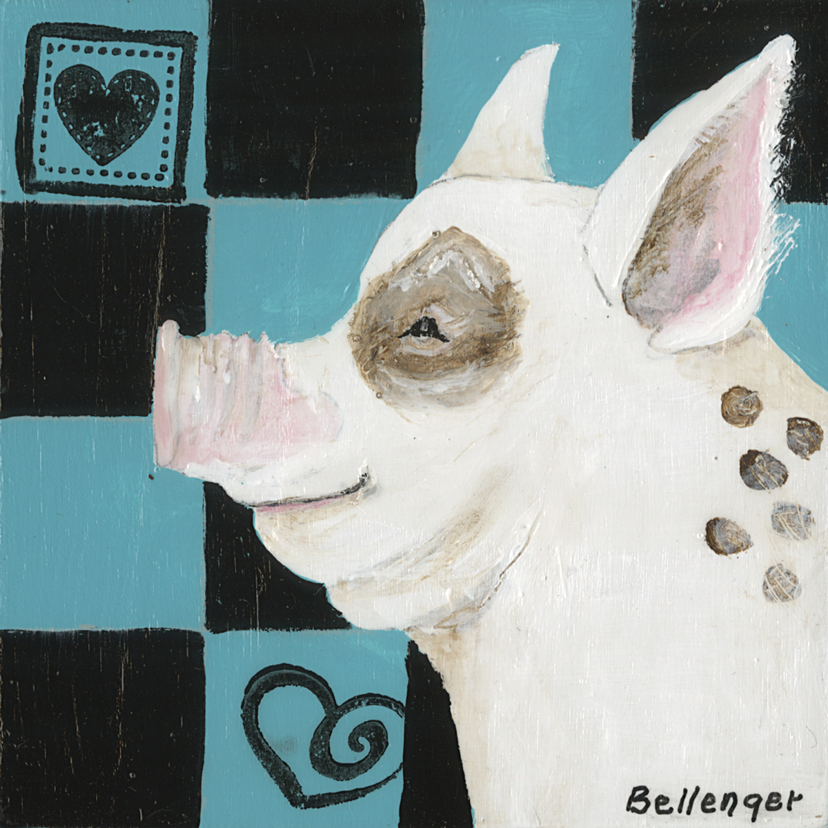 For the Love of Pig - Anna Bellenger