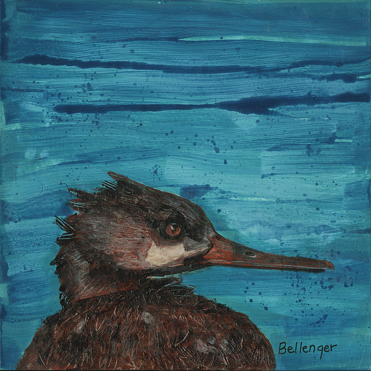 Mad Merganser - Anna Bellenger