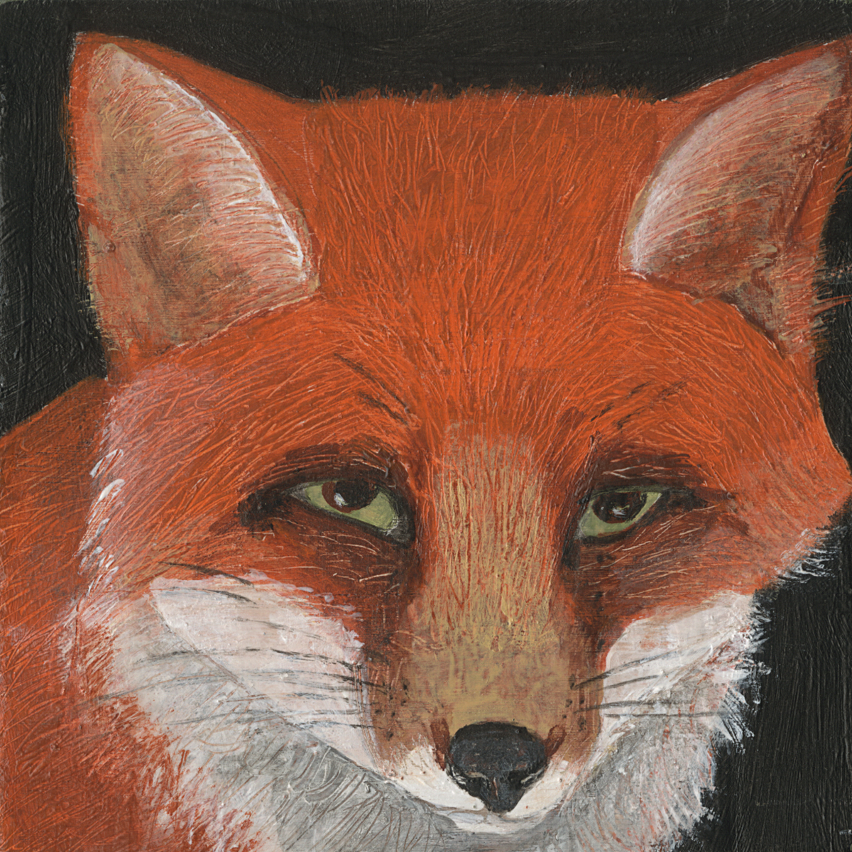 Red Fox - Anna Bellenger