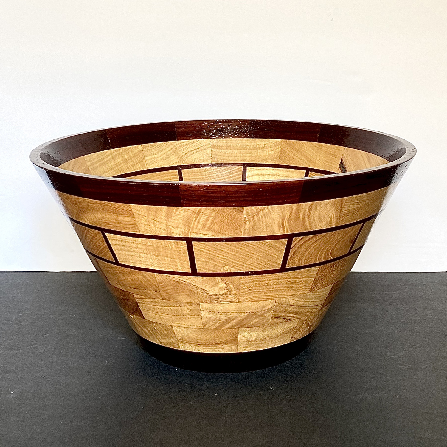 Large Segmented Bowl - John Cargill