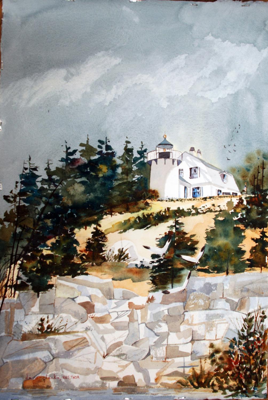 Bear Island Lighthouse - Doris Davis-Glackin
