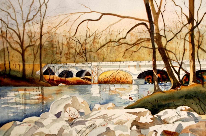Van Buren Street Bridge - Doris Davis-Glackin