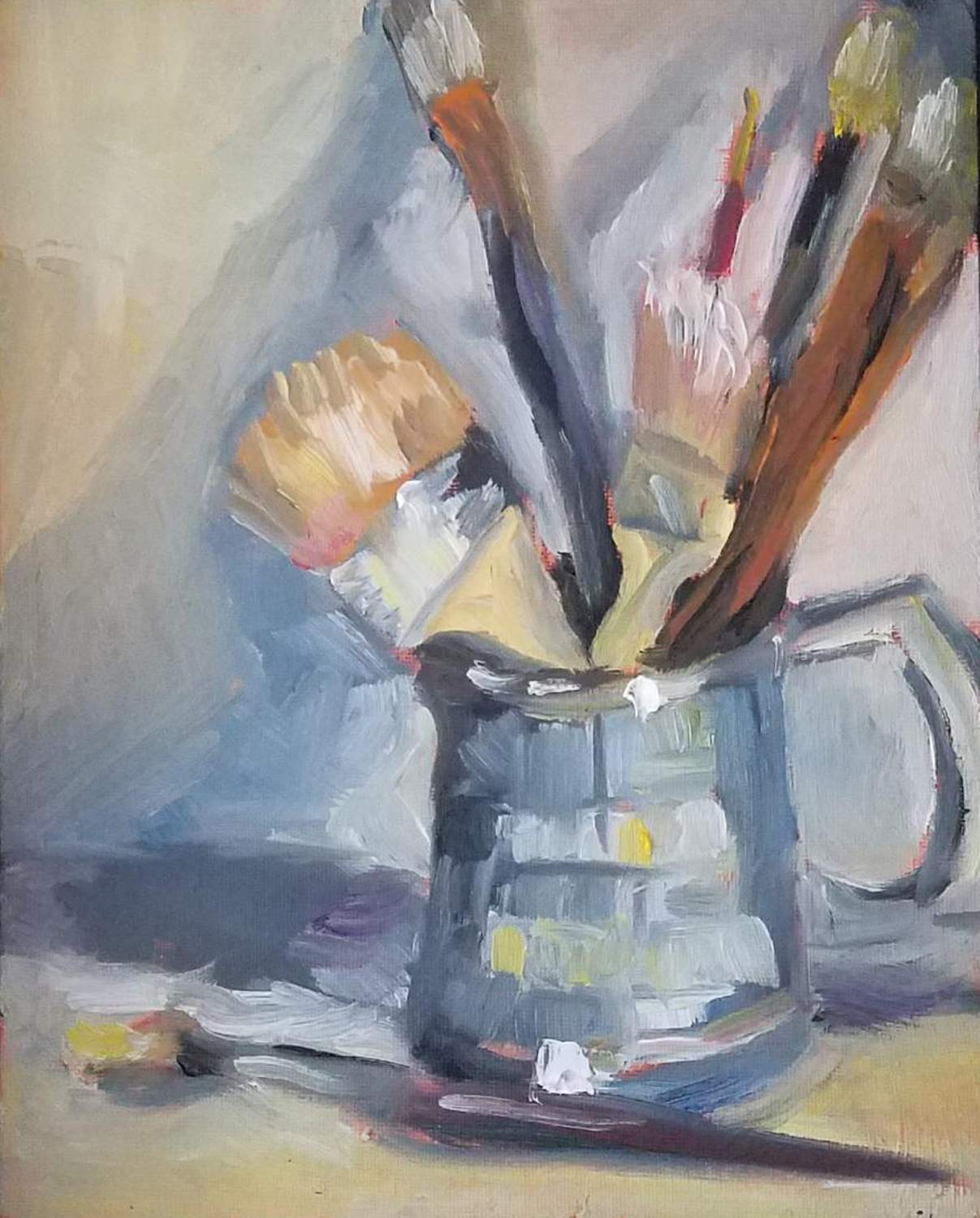 Artist's Brushes - Bonita Frawley