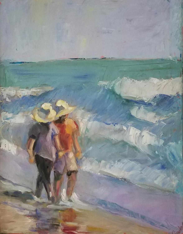 Walk on the Beach - Bonita Frawley