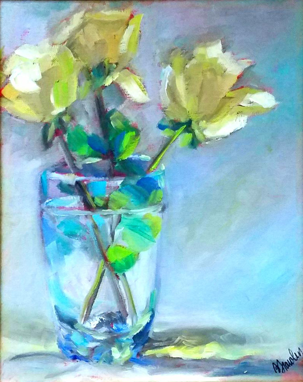 Yellow Roses - Bonita Frawley