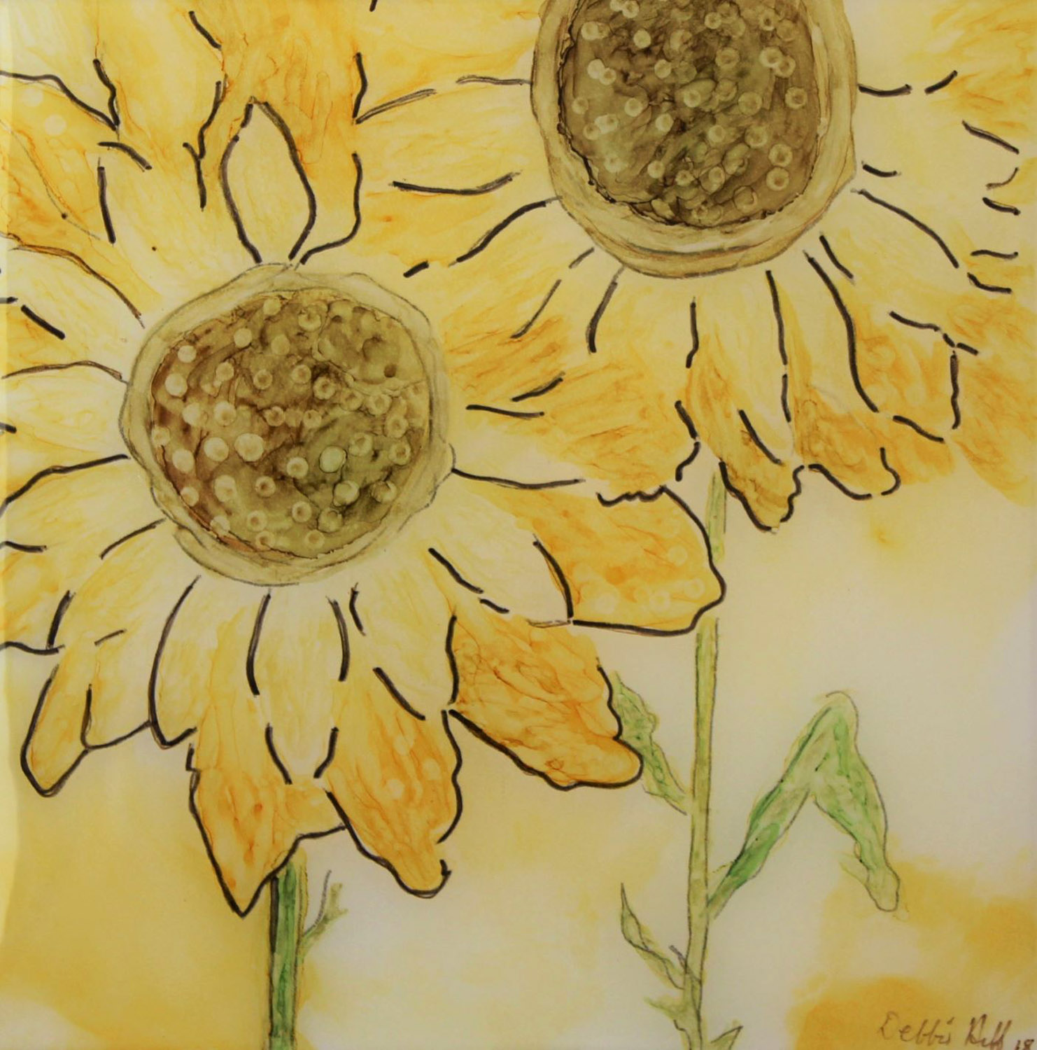 Sunflower - Debbie Huff