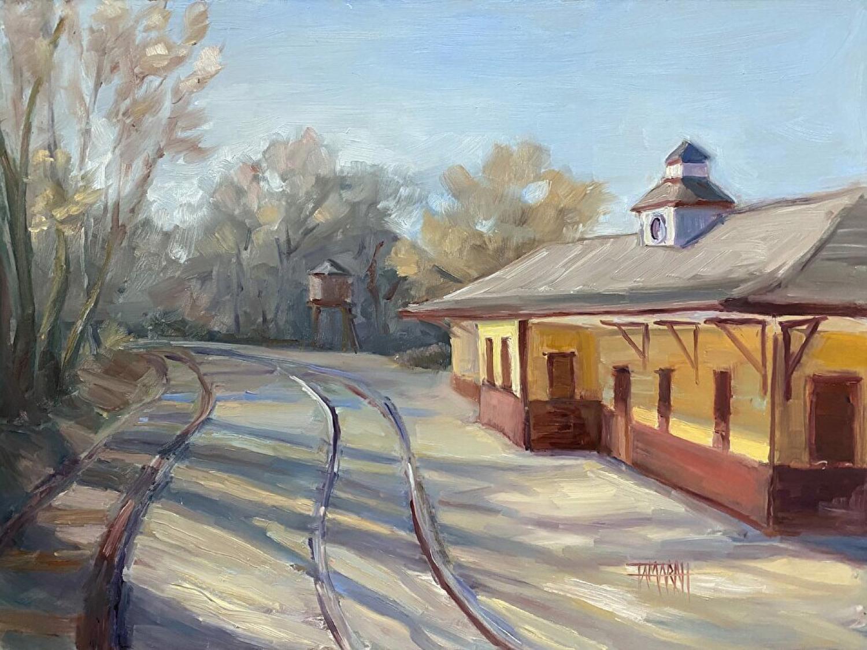 Riding The Rails - Tamara Hutchinson