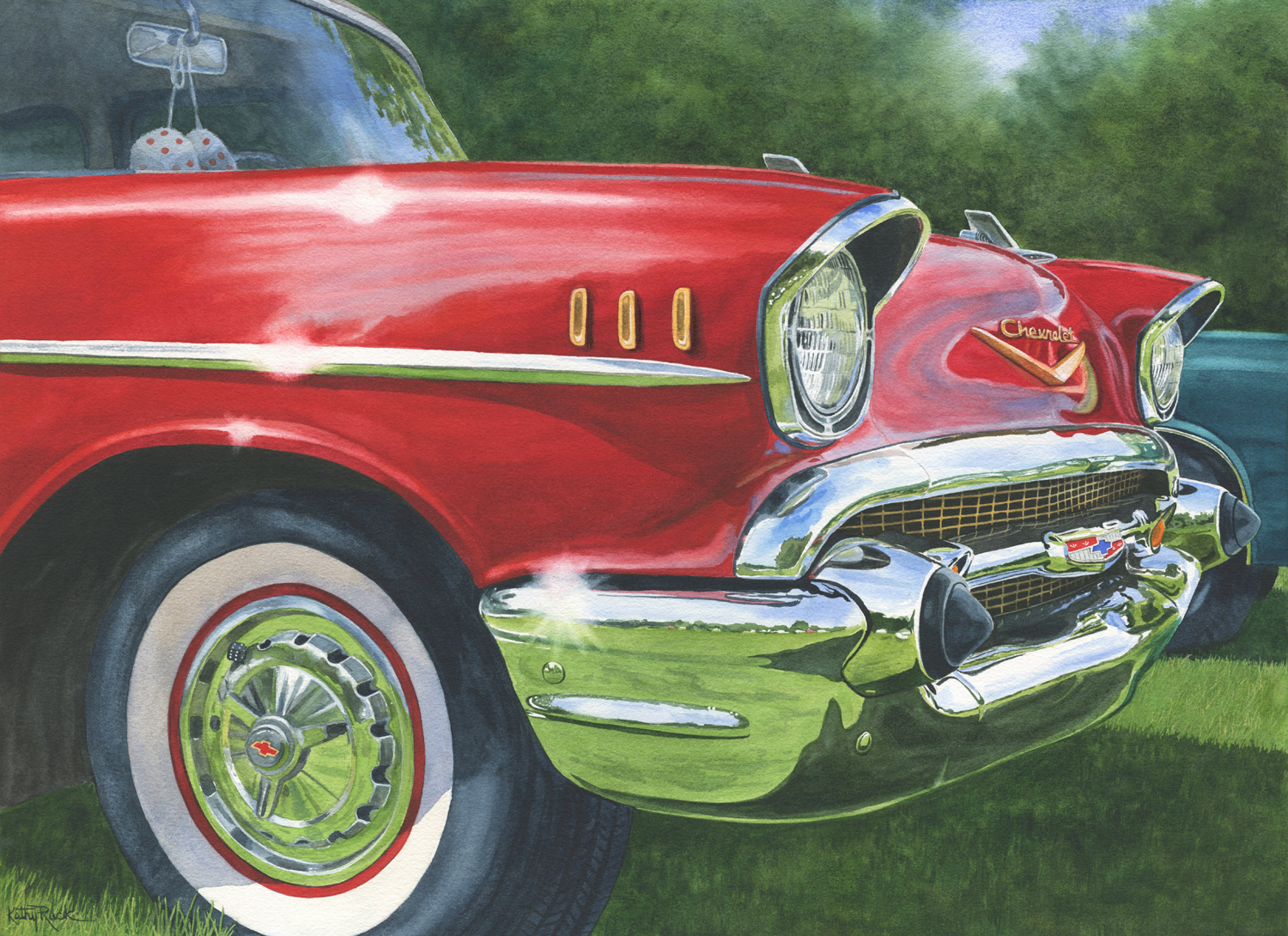 '57 Chevy - Kathy Ruck