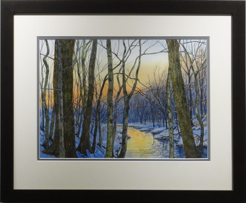 Glowing Creek - Kathy Ruck