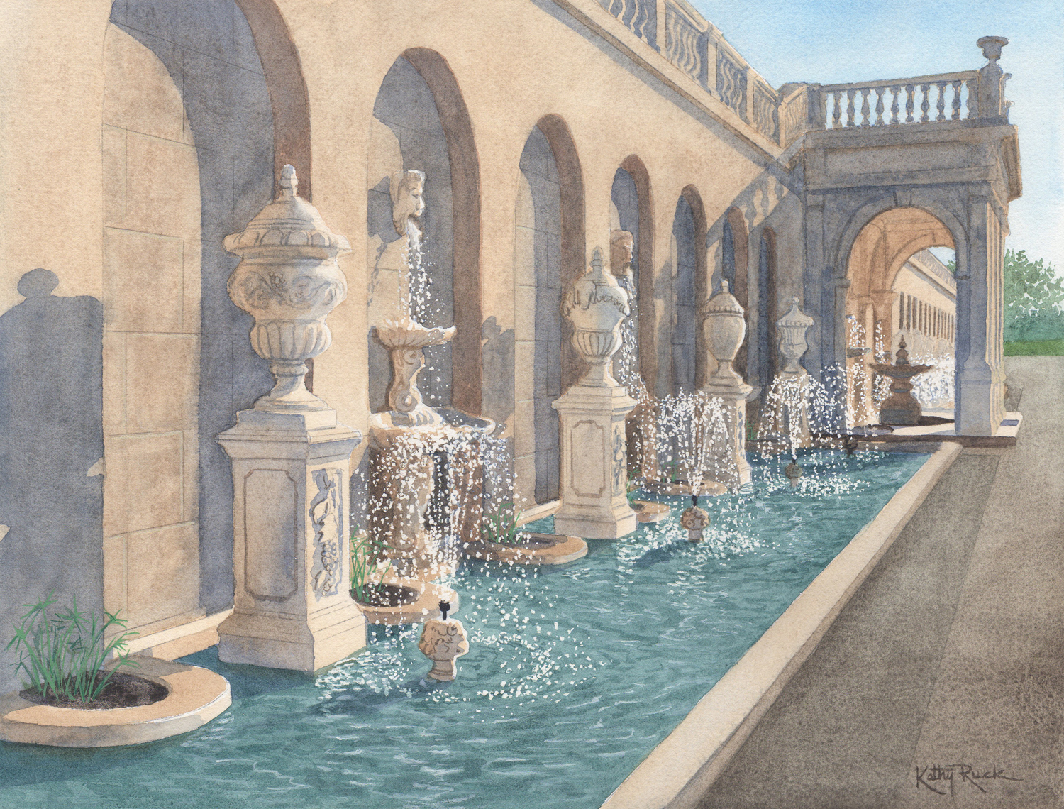 Longwood's Fountains - Kathy Ruck