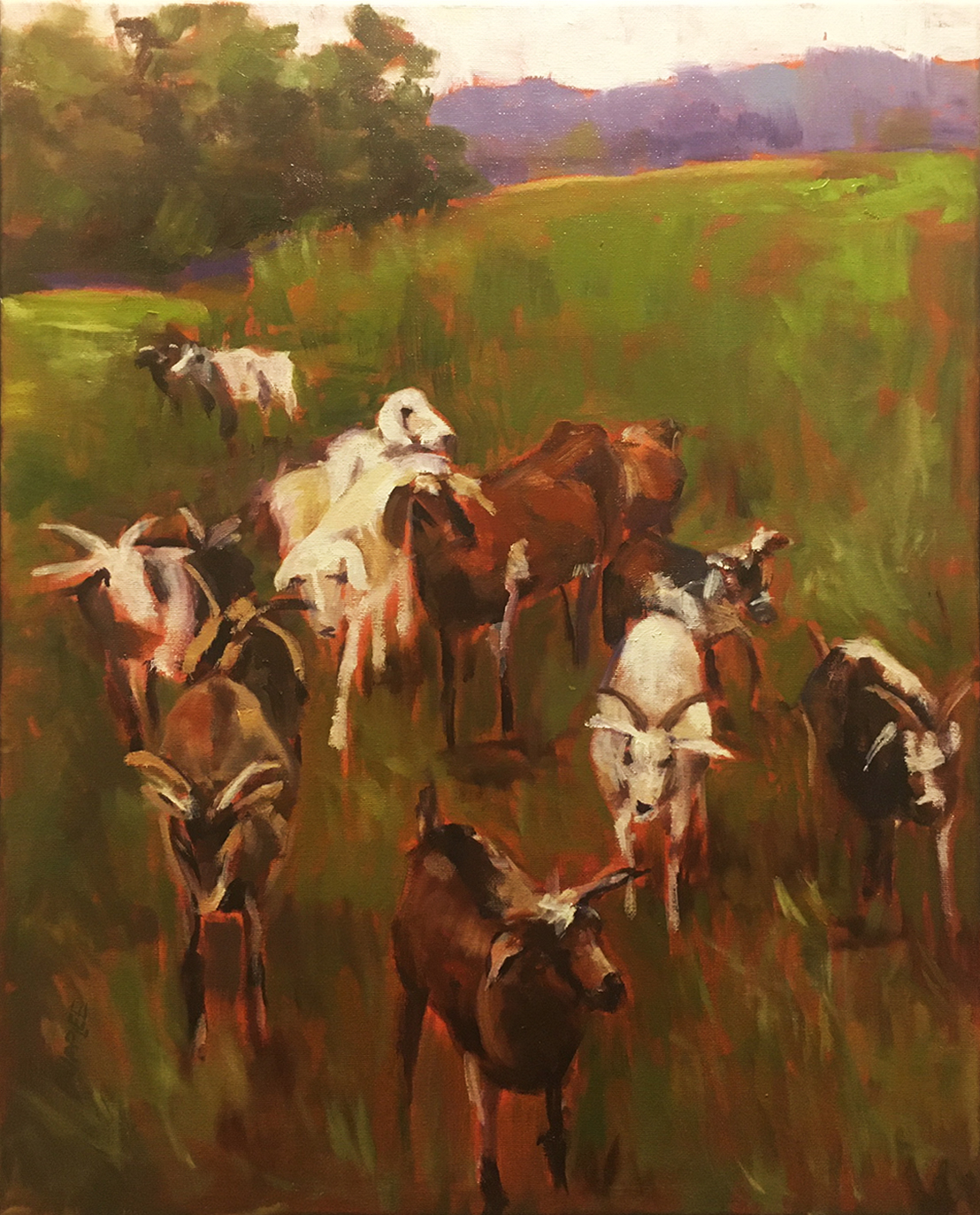 Working the Early Shift - Joan Delaney Supplee