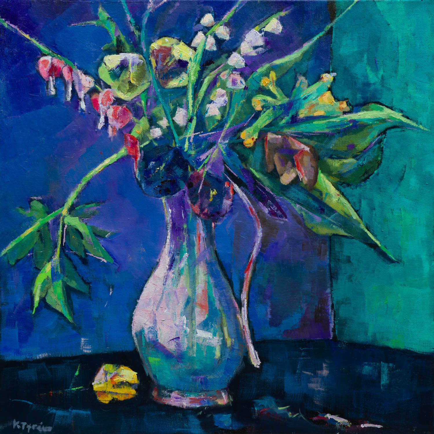 Still Life with Tin Vase - Kerstin Tyreus