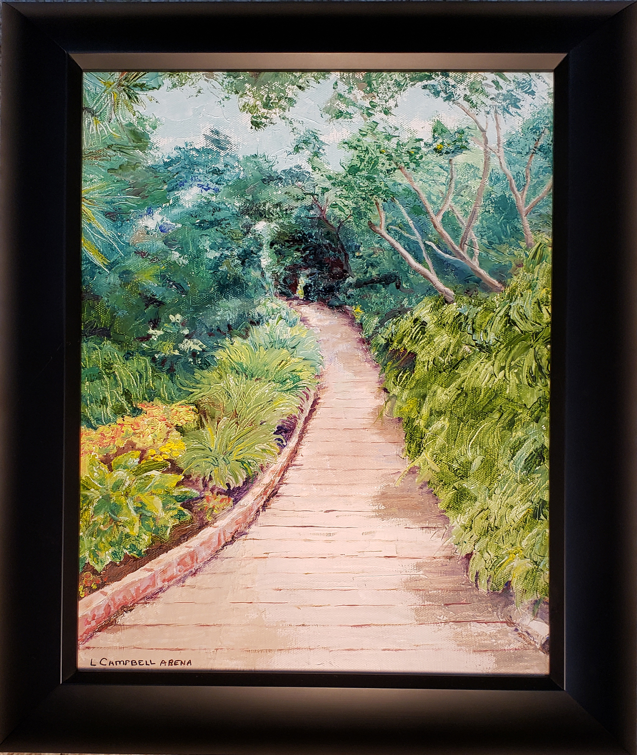 Garden Path, Wildwood, NJ - Linda Campbell Arena