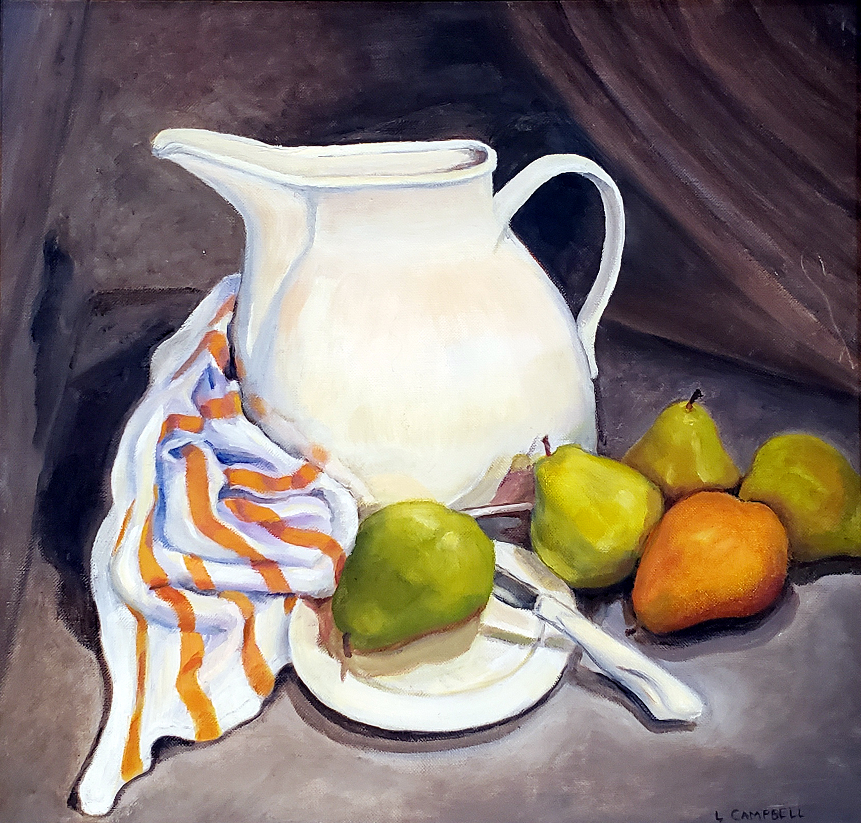 Pitcher and Pears - Linda Campbell Arena