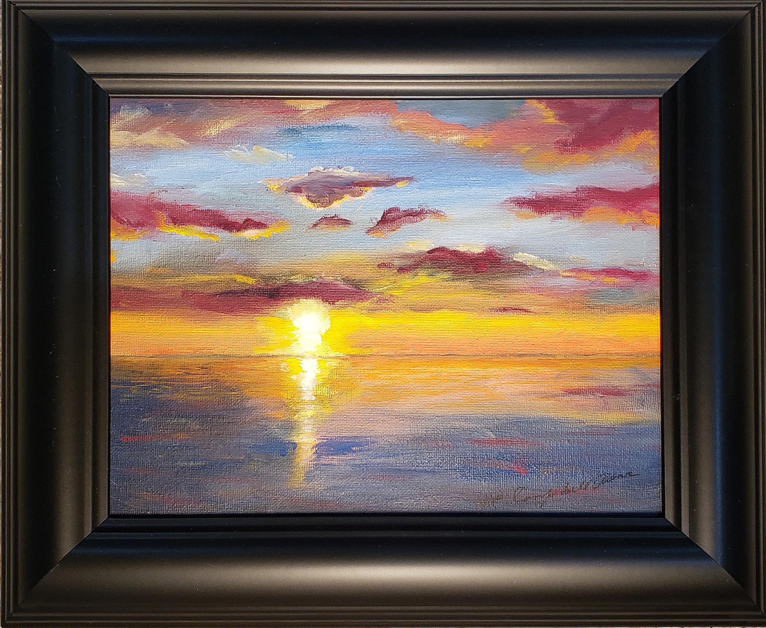 Sunset I, Deal Island, MD - Linda Campbell Arena