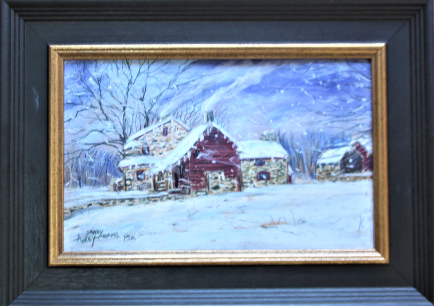 Cold Winter at Lafayette Headquarters - Sandy Askey-Adams
