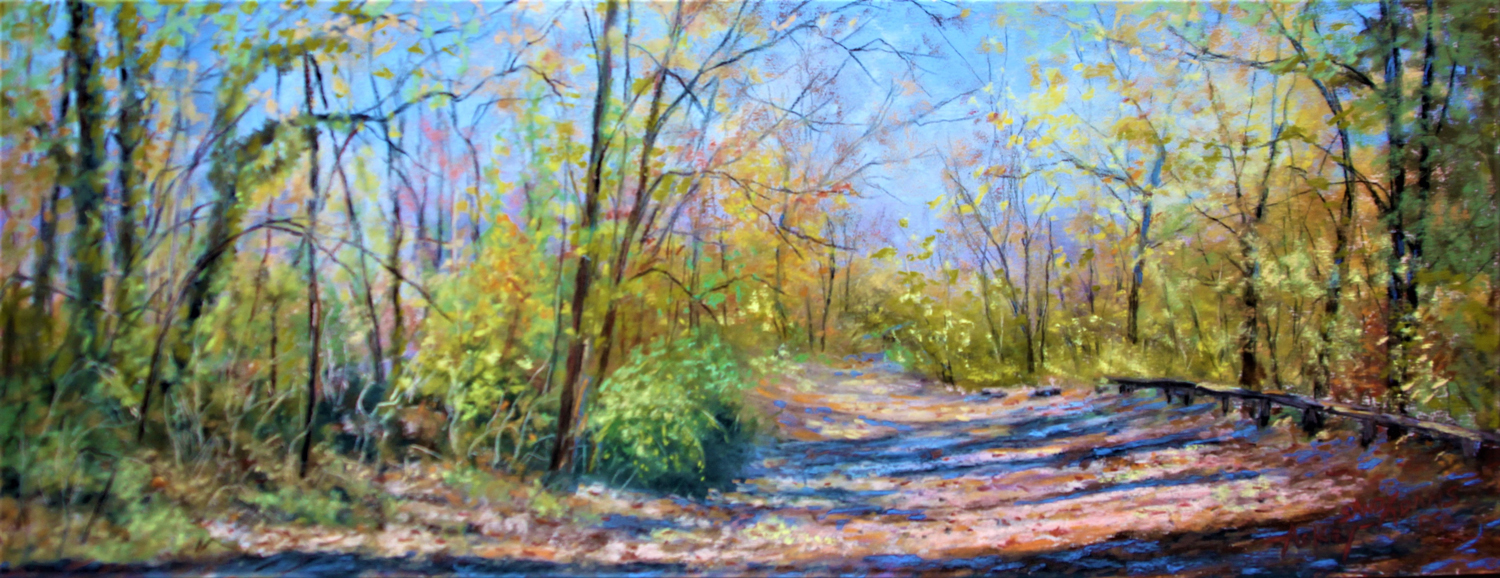Autumn Path by the Brandywine - Sandy Askey-Adams