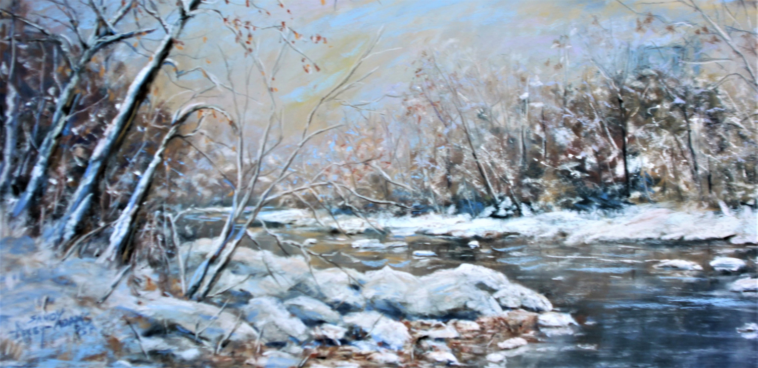 Snow on the Brandywine - Sandy Askey-Adams