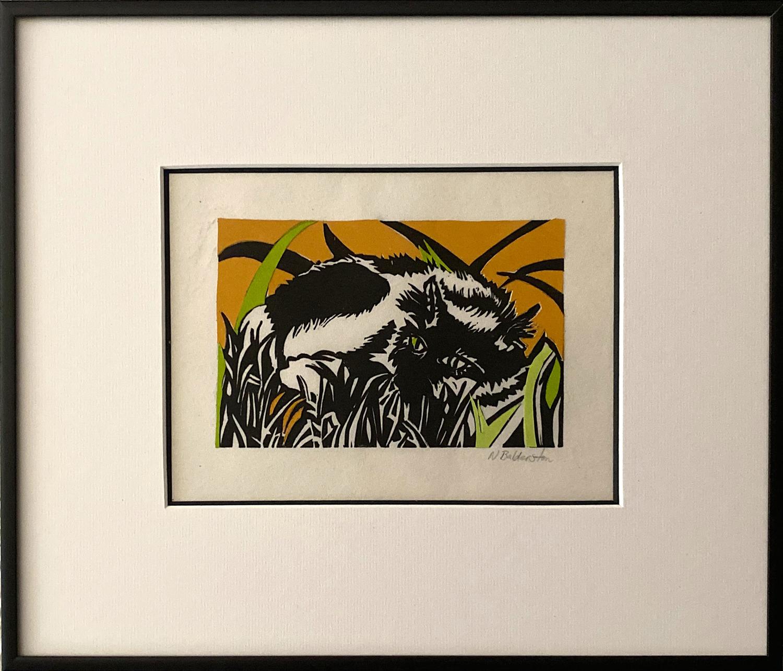 Cat Nap in the Grass - Nita Balderston