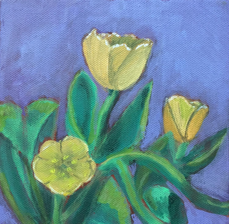Tulip Study No. 3 - Dolores Bartholomew