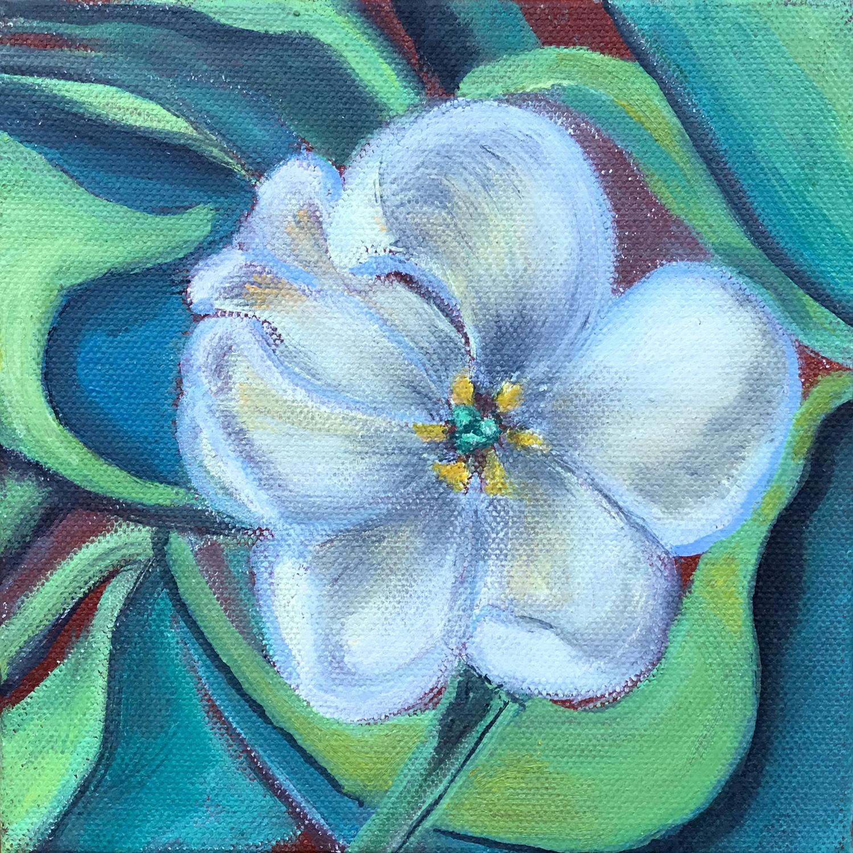 Tulip Study No. 4 - Dolores Bartholomew