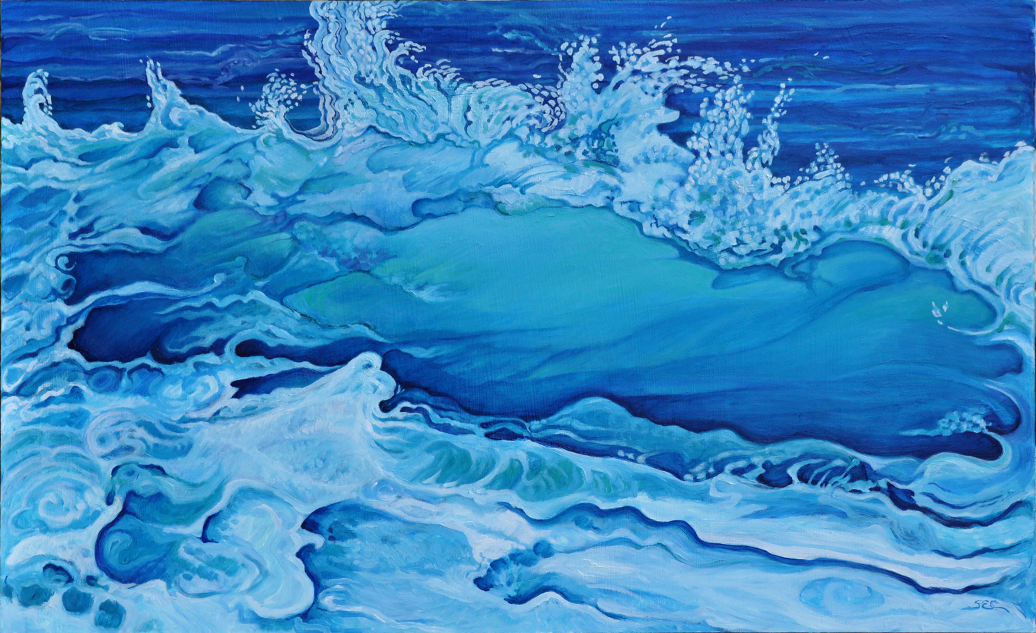 Blue Wave - Susan Conner