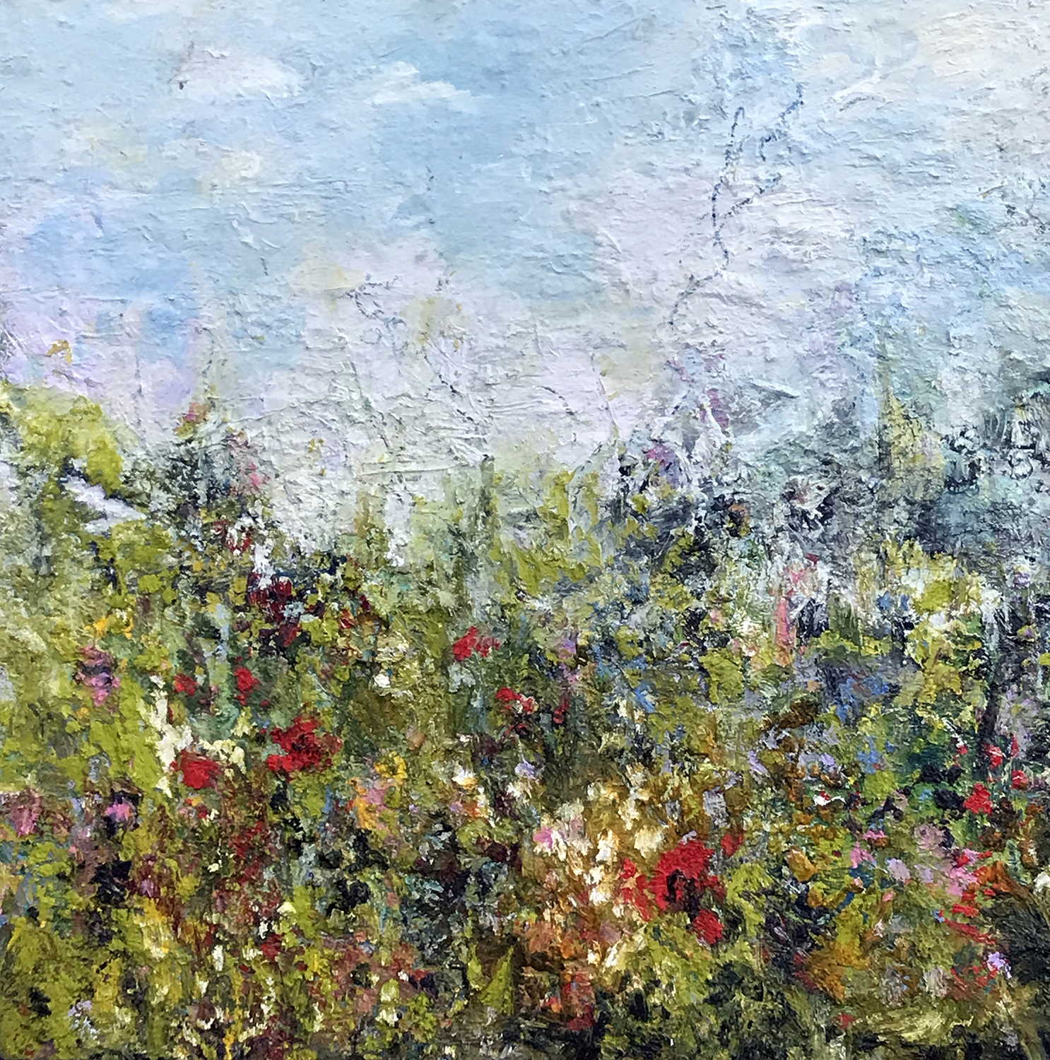 Wildflower Meadow - Michele M Foster