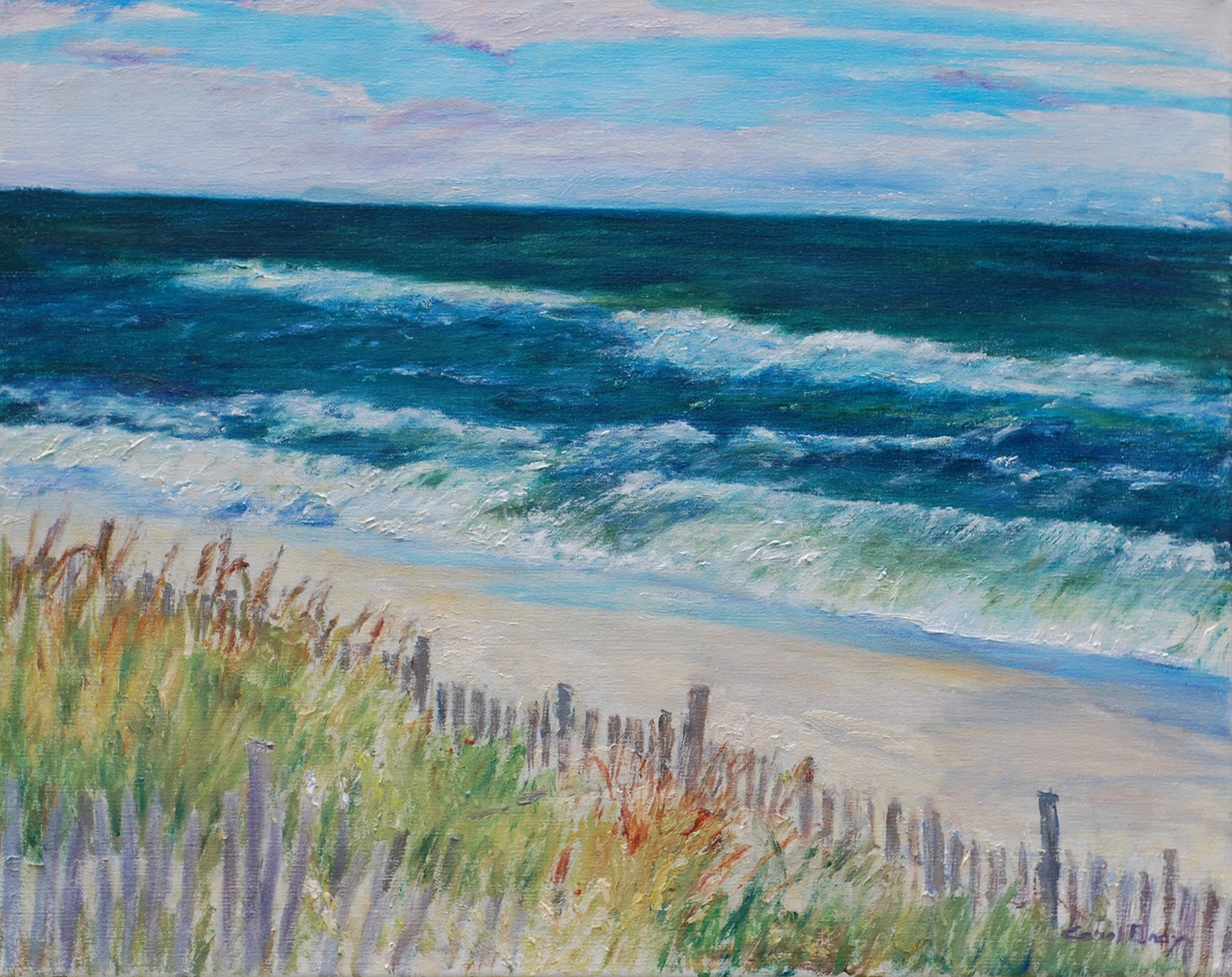 September Beach - Carol Gray