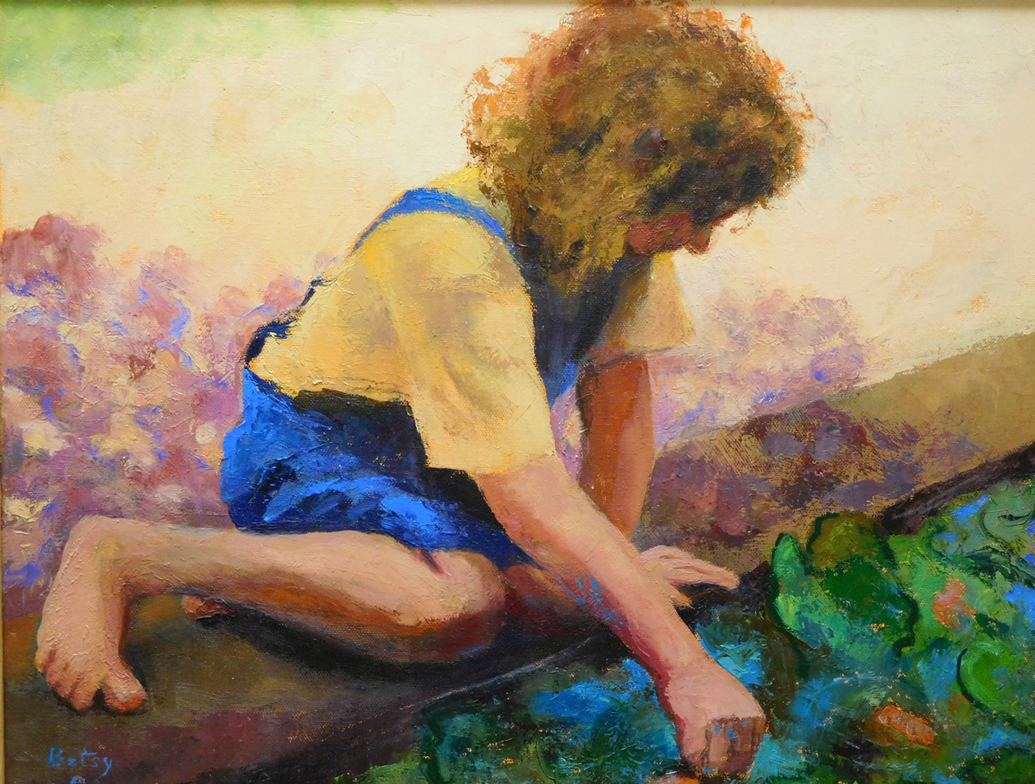 Feeding the Fish - Betsy Greer