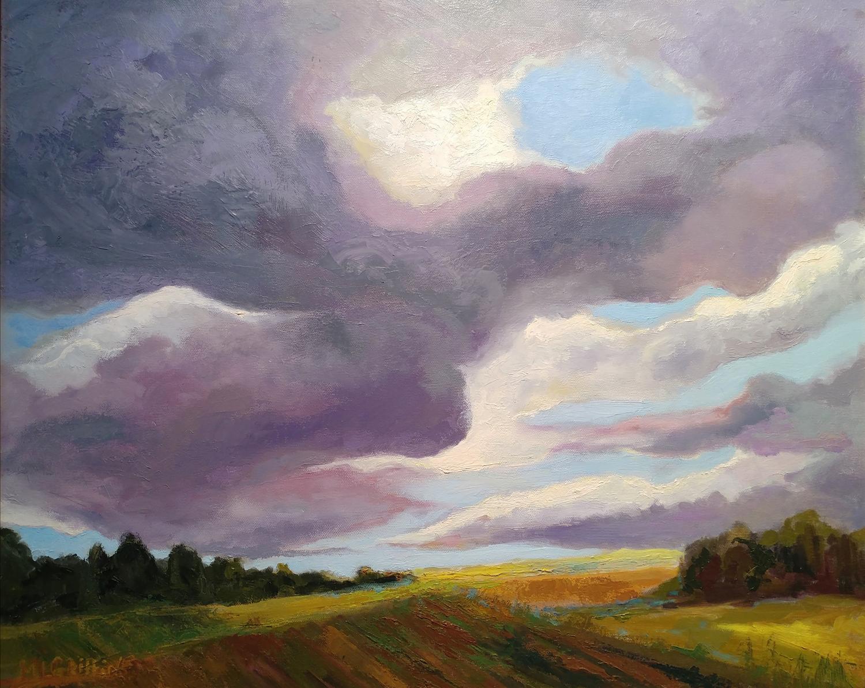 Autumn Skies I - Mary Lou Griffin