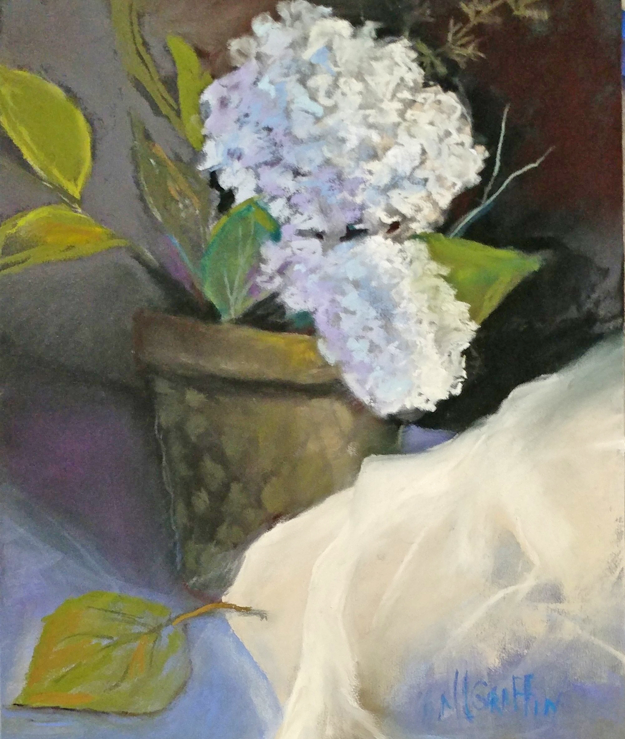 Potted Hydrangea - Mary Lou Griffin