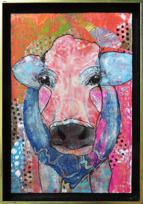Dreamy Cow - Mary Lou Hamilton