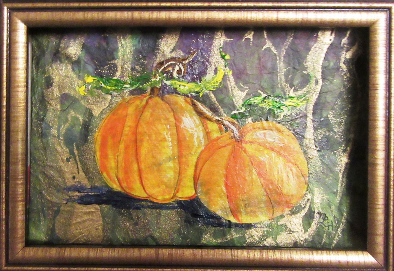 Pumpkin Pair - Mary Lou Hamilton