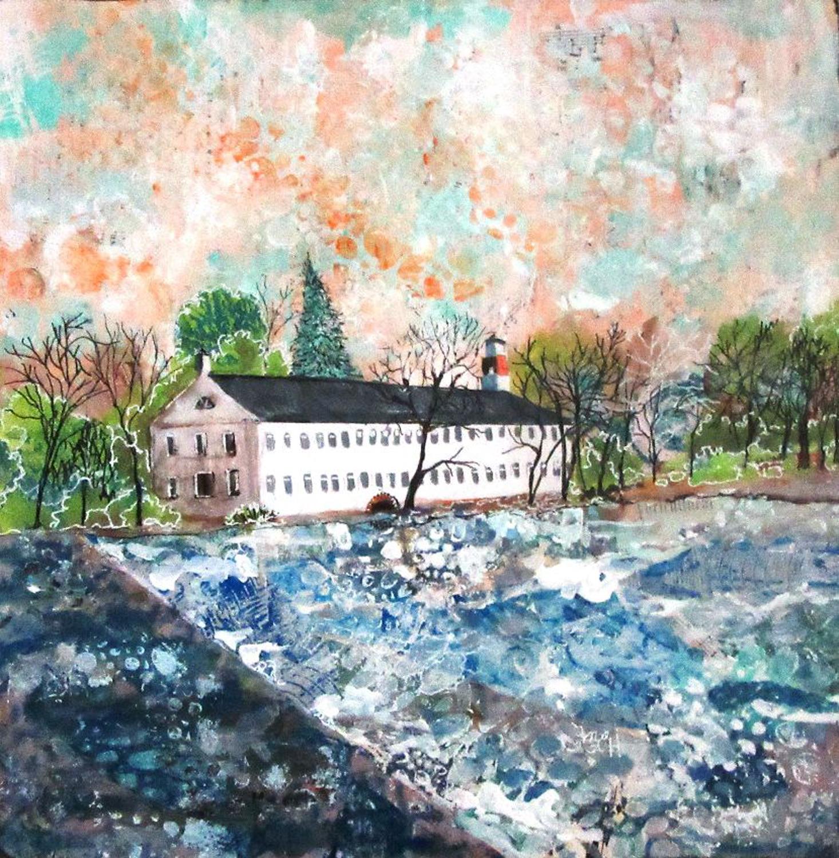 Winter at Walker's Mill - Mary Lou Hamilton