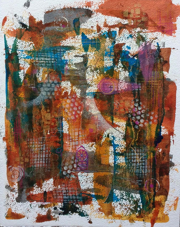 Sacred Dreamscape I - Paula Webster Hartzell