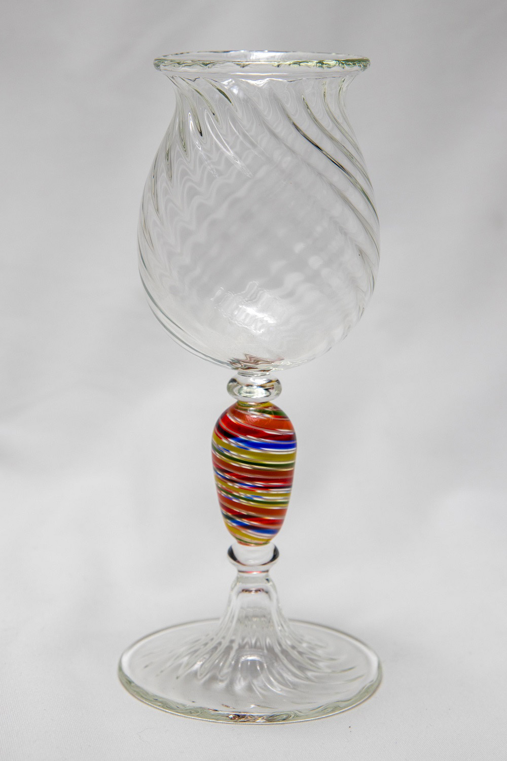 Rainbow Scalloped Goblet - Greg Losco