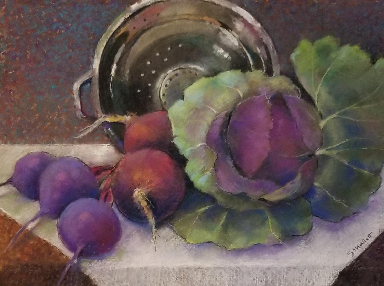 Cabbage & Friends - Sandy Mallett