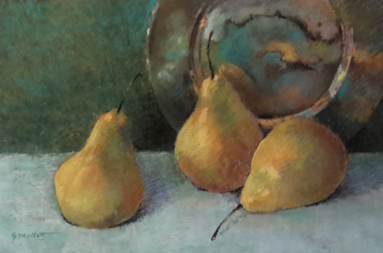 Poised Pears - Sandy Mallett