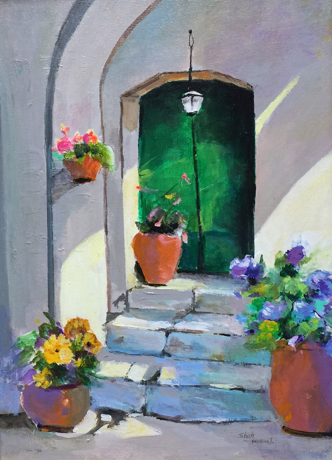 Green Door - Shah Morovati