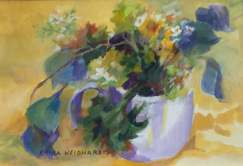 Tea Cup Bouquet - Erika J Neidhardt