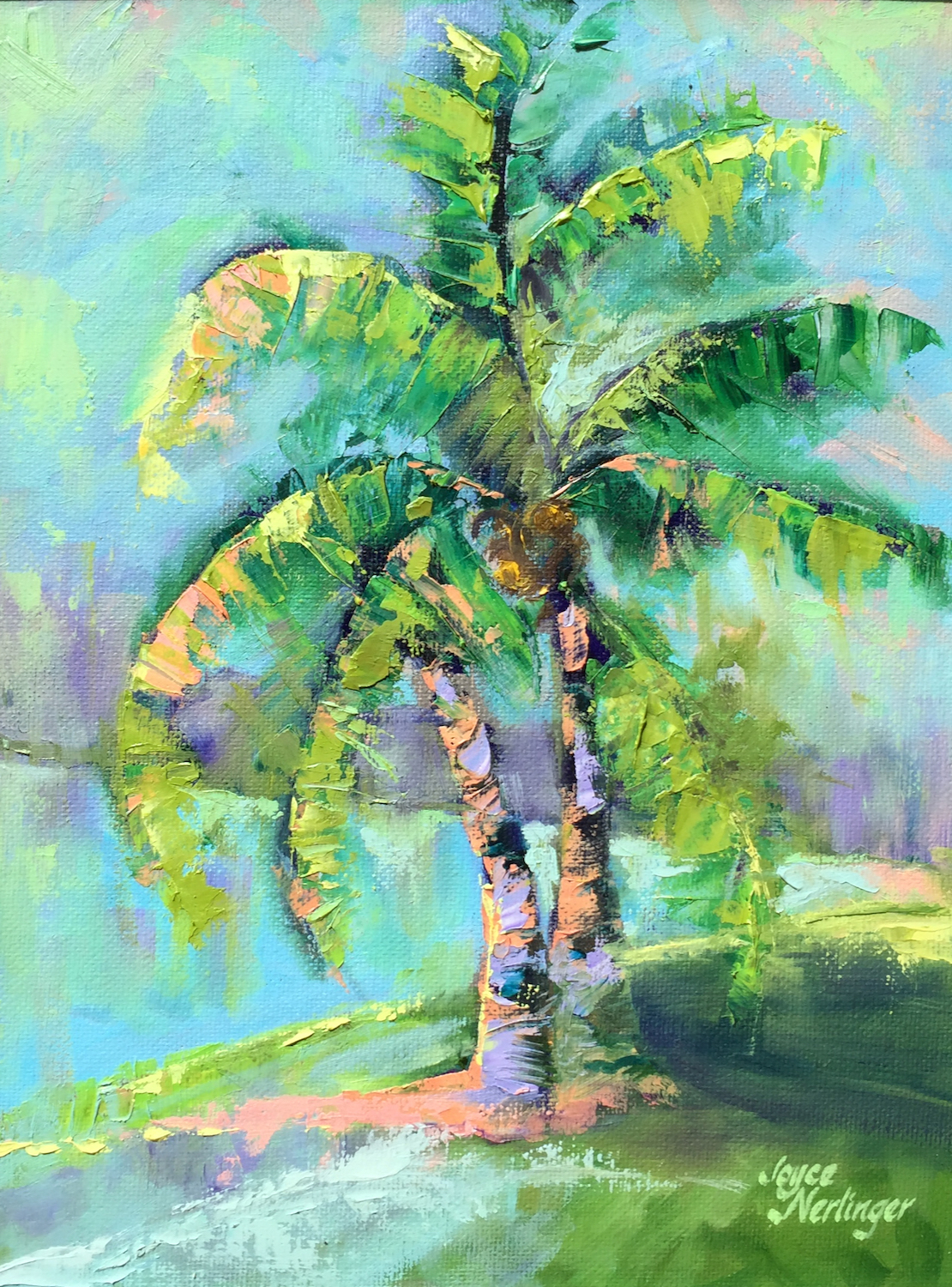 Florida Fronds - Joyce Nerlinger