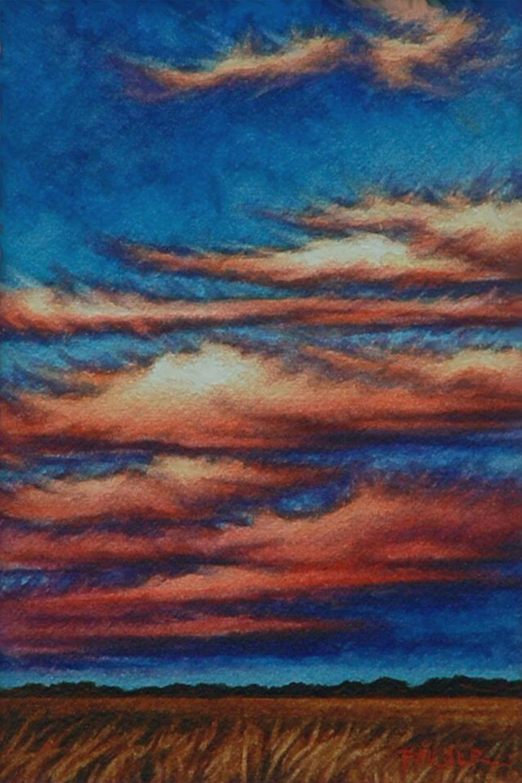 Scarlet Sunset - Beth Palser