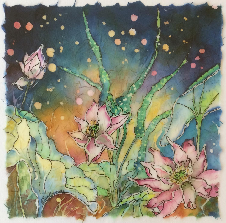 Sparkling Lotus I - Elizabeth Parthemore