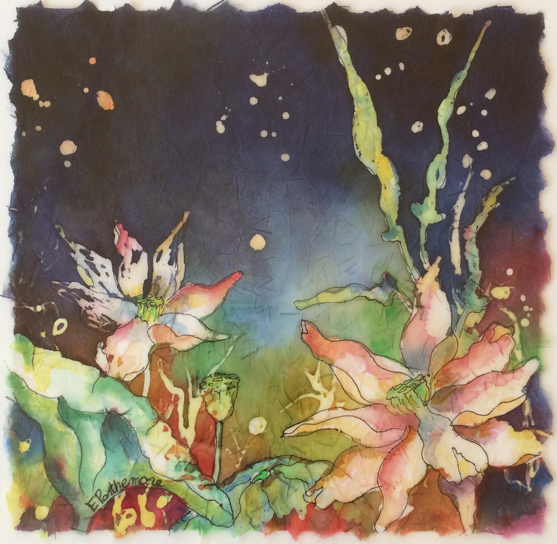 Sparkling Lotus II - Elizabeth Parthemore
