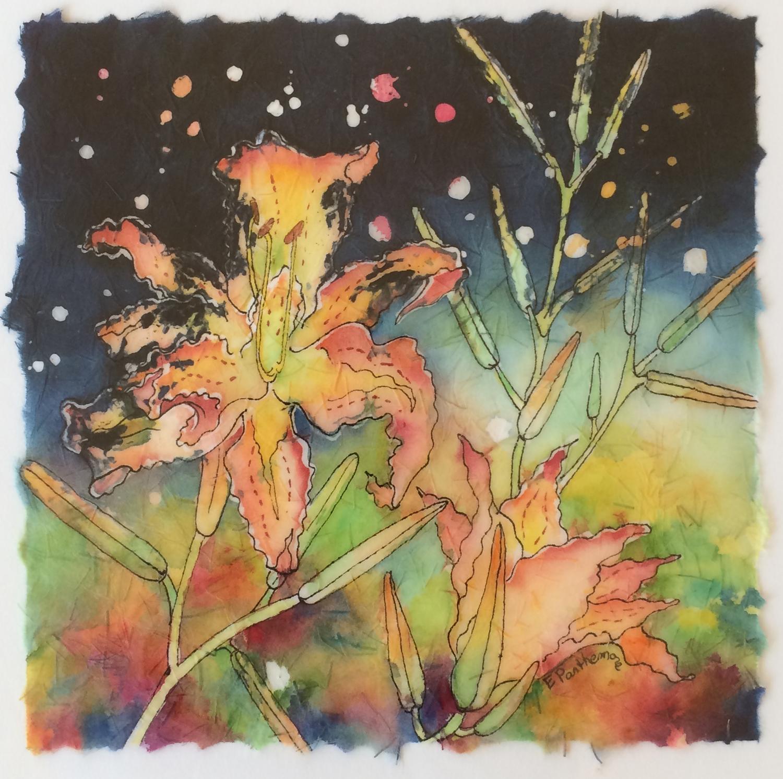 Sparkling Tiger - Elizabeth Parthemore
