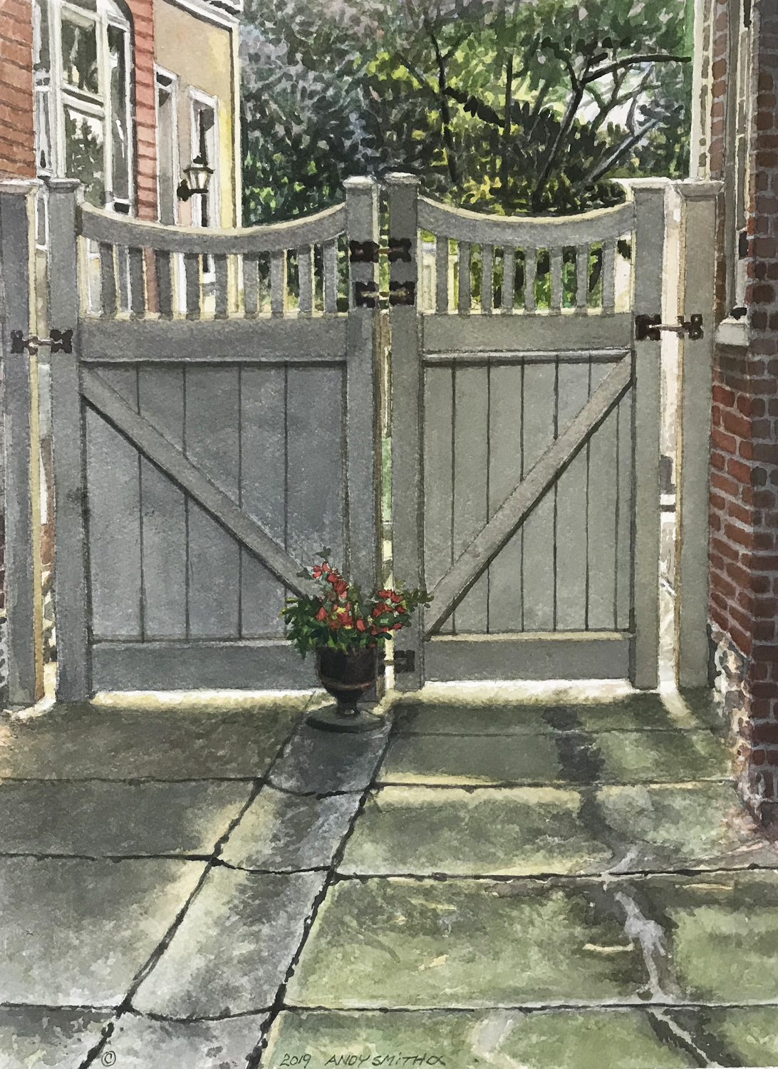 Courtyard Entrance - Andy Smith